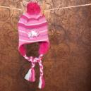 Zimná čiapka podšitá jemným welsoftom / HK - ružová