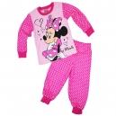 Detské pyžamo Disney / Hanblivá Minnie - ružové