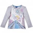 Tričko s dlhým rukávom Disney / Frozen - sivé