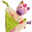 Rozkošná patchworková plyšová hračka / haja - Kravička