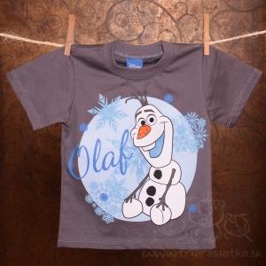 caa95d1cc Detské tričko s krátkym rukávom - Frozen/Olaf