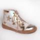 Zlaté kotníkové topánky RenBut / 23-3237