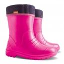 Detské ULTRA ľahké zateplené gumáčiky / ružové