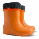 Detské ULTRA ľahké zateplené gumáčiky / oranžové 20-37