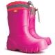 Zimné ULTRA ľahké zateplené gumáky / Ružové