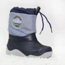 Krásne detské snehule Muflón 29-32 / modro-šedá
