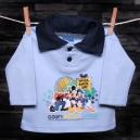 Detská polokošeľa s dlhým rukávom - Mickey