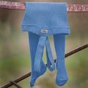 Detské pančuchy na traky - MILE / modré