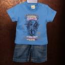 Detská súprava rifle, tričko - Togs by Teddy