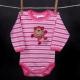 Detské body - SCAMP opička ružová