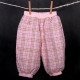 Tulec trend - Kockované nohavice s podšívkou