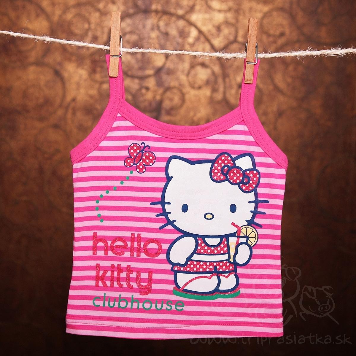 5967cca21 Detská súprava - Hello kitty / tričko na ramienka, suknička
