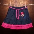 Detská sukňa - MINNIE / so šnúrkami