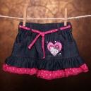Detská sukňa - Hello Kitty / so šnúrkami