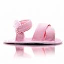 Detské capačky - Sandálky / ružové