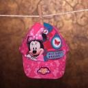 Detská letná šiltovka Disney - Mninnie / ružová