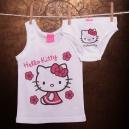 Detská súpravička spodného prádla Hello Kitty / tielko, nohavičky