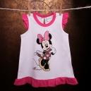 Detské Šaty - Minnie / biele