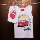 Detská súpravička spodného prádla . CARS / boxerky, tielko