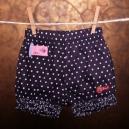 Kojenecké krátke nohavice bodkované - BONDI