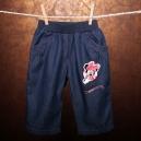 Detské riflové 3/4 nohavice s vreckami - MINNIE