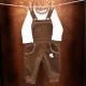 Detská súpravička Disney / Menčestrové nohavice na traky + Body s dlhým rukávom