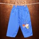 Detské šušťákové nohavice - Macko / Basketball