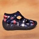 Detské kvalitné topánočky RenBut - papučky / kocky