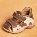 Detské kožené zdravotné topánočky Santé / N 810/101/95