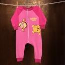 Detský overal - Peekaboo / ružový