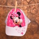 Detská šiltovka Disney - Mninnie / biela